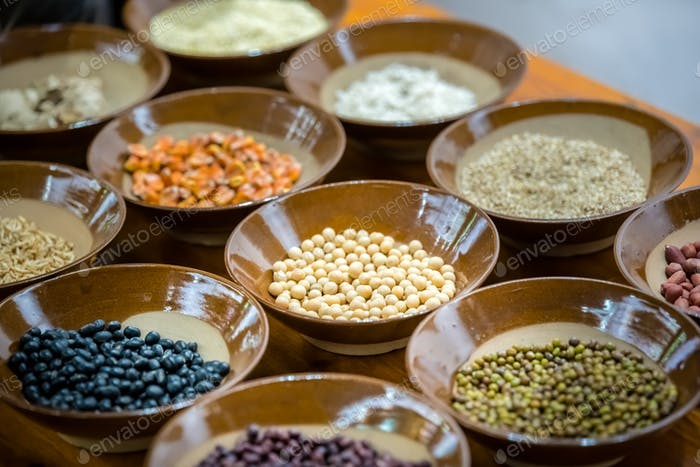 Variety of grains for sale