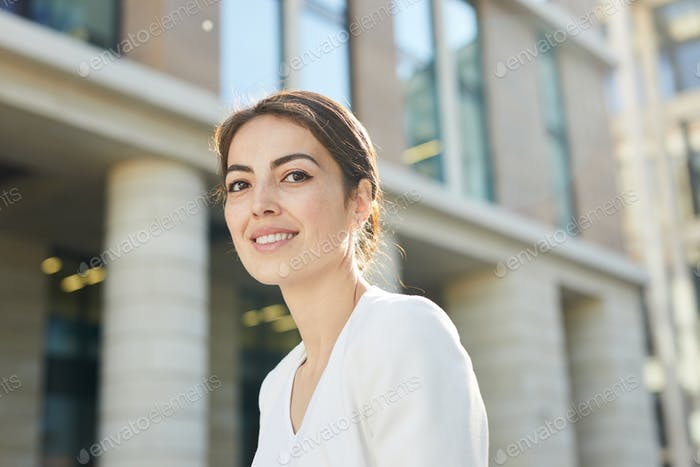 Portrait of Businesswoman Outdoors
