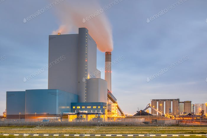 Coal powered electricity plant