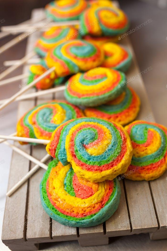 Pinwheels Lollypop for Carnival