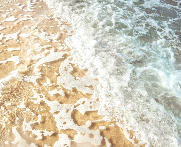 Cleared sea water background