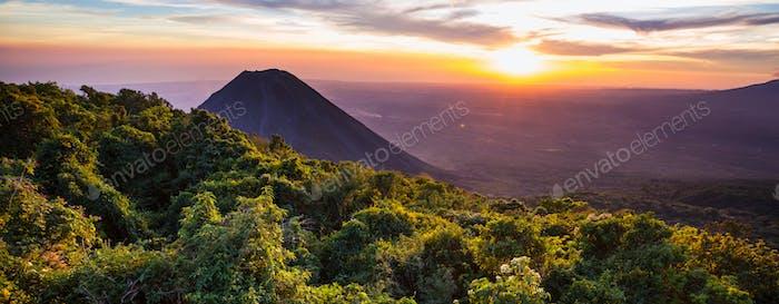 Volcano in Salvador