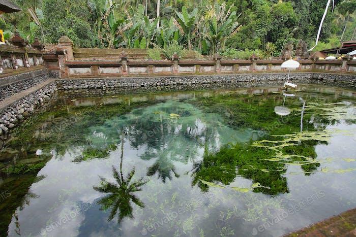 Tirta Empul-Tempel. Bali, Indonesien.