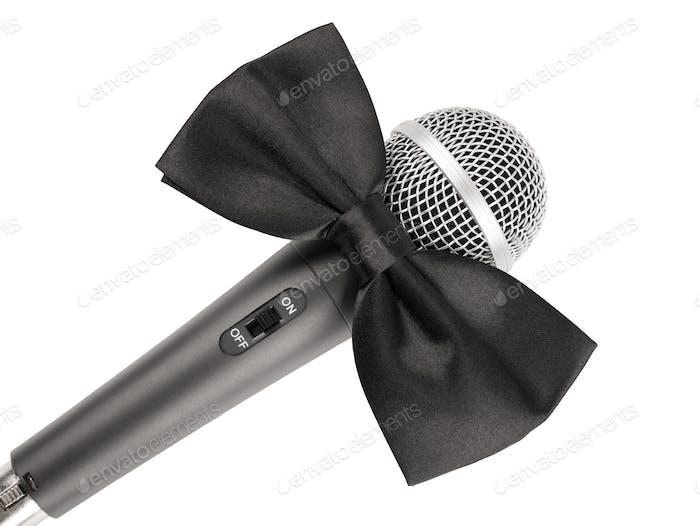 Микрофон с галстуком