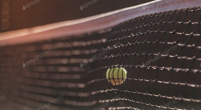 Red de cancha de tenis