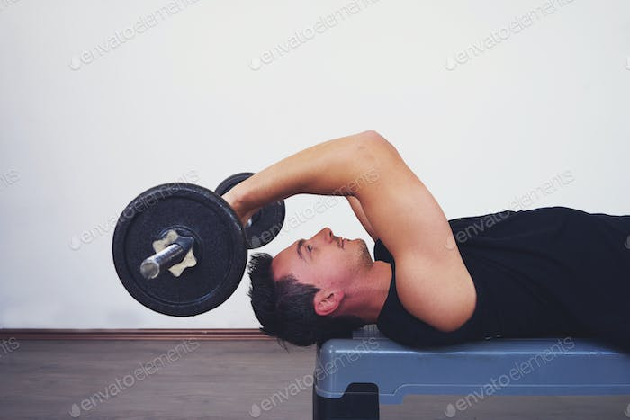Working out with weights