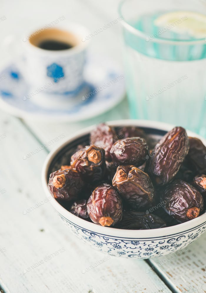 Traditionelle Küche für Ramadan Iftar