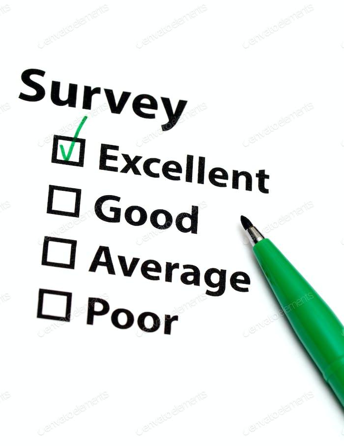 Formular Umfrage
