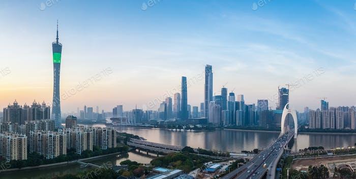 guangzhou panorama