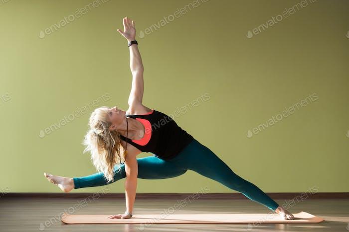 Visvamitrasana Yoga Pose