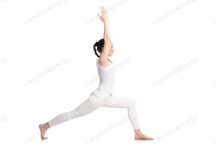Yoga Warrior 1 Pose