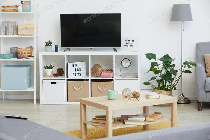 Big TV in the room