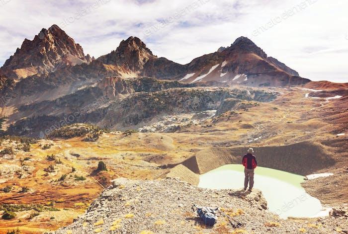 Wanderung im Grand Teton