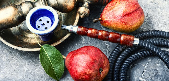 Asian shisha with pear tobacco