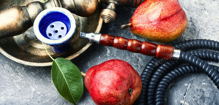 Asian shisha with pear tobacco