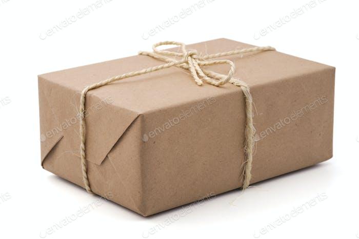 Brown parcel