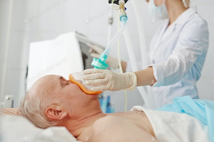 Anesthesia before operation