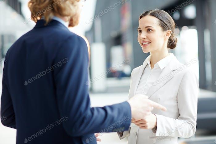 Беседа с коллегами