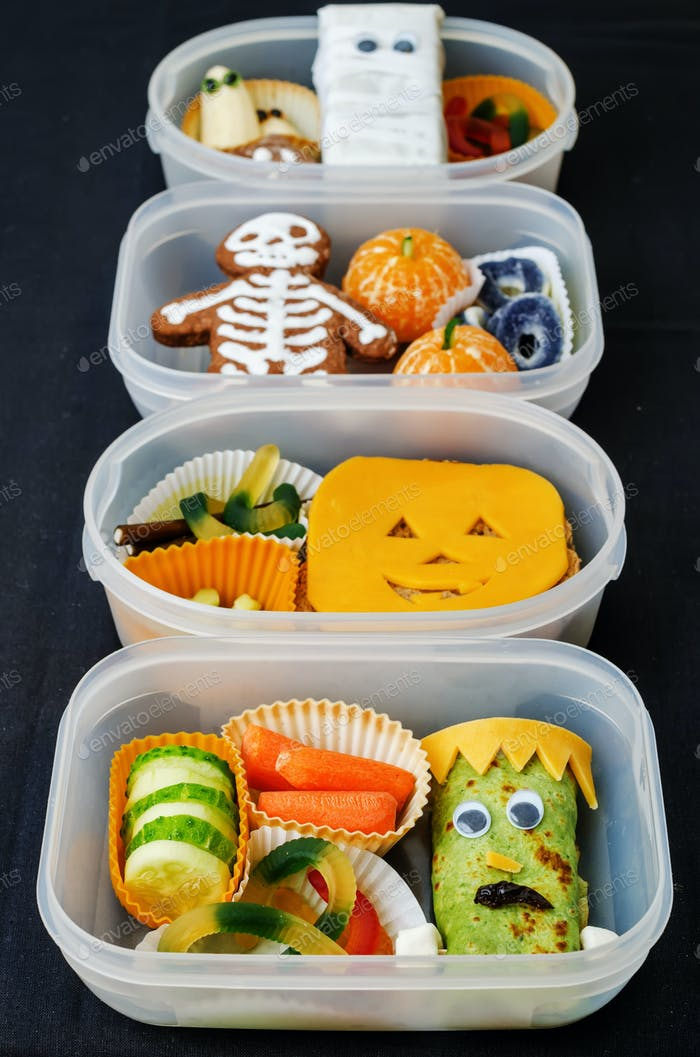 lunch boxes for Halloween