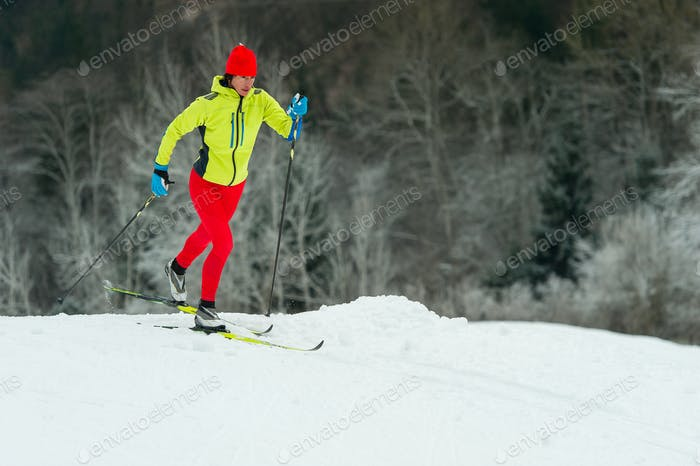 Cross-country skiing alternate