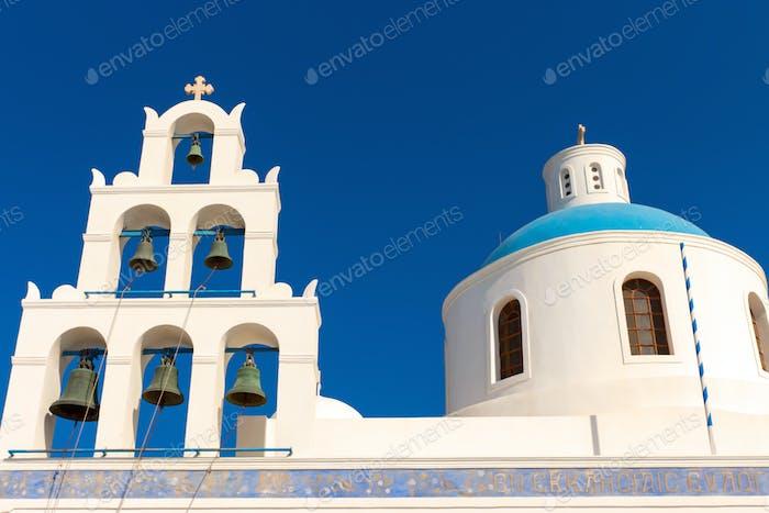 Schöne griechische Kirche