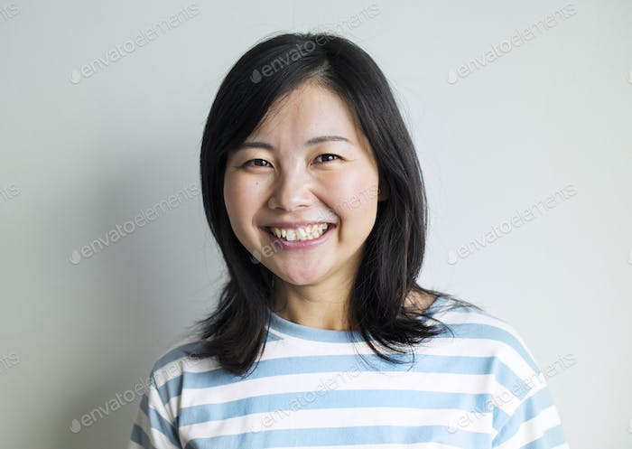 Portriat of Asian woman