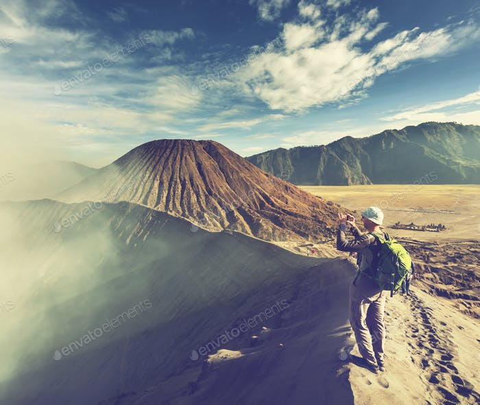 Wanderung in Indonesien