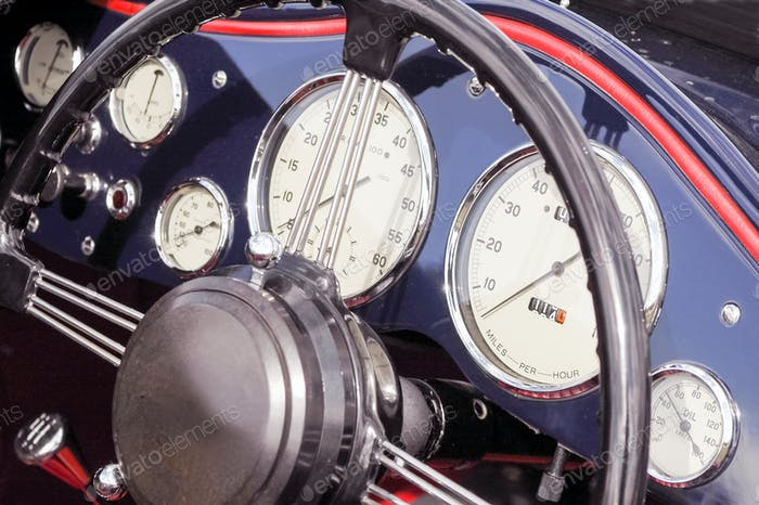 dashboard dials