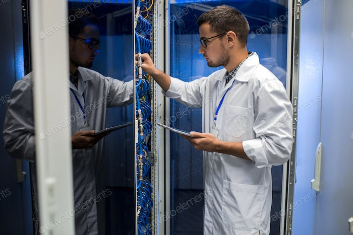 Young Scientist using Supercomputer
