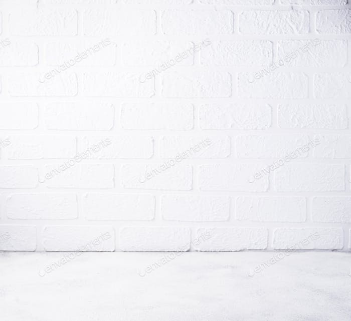 Empty background with wall and floor