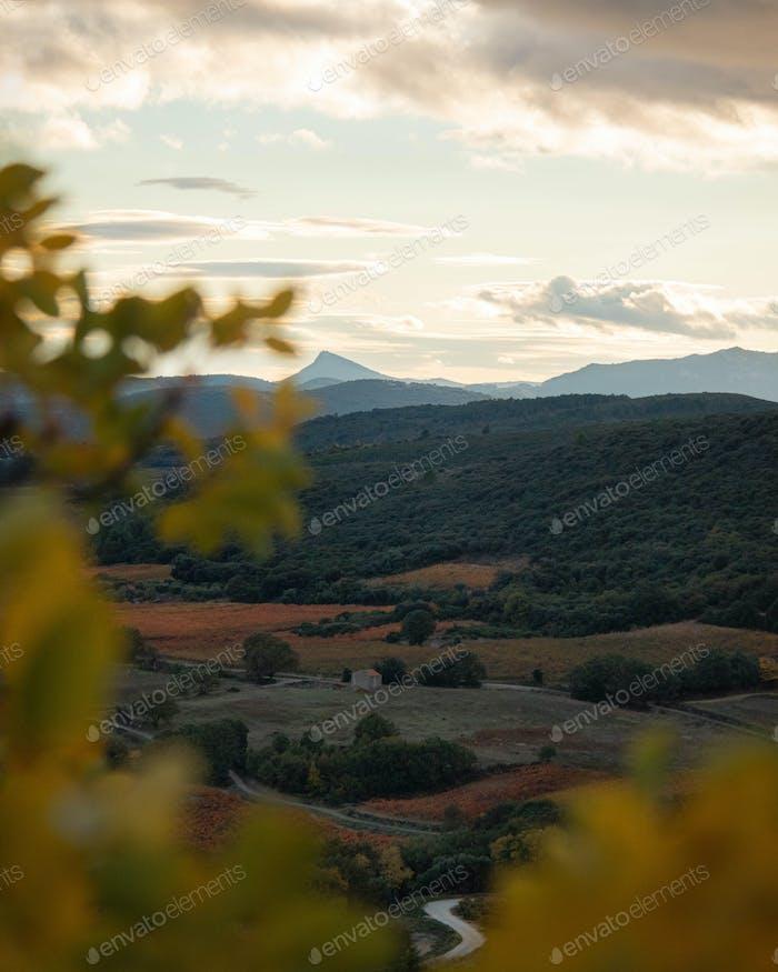 Landschaft Südfrankreichs