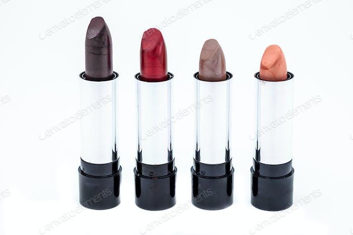 Several lipsticks
