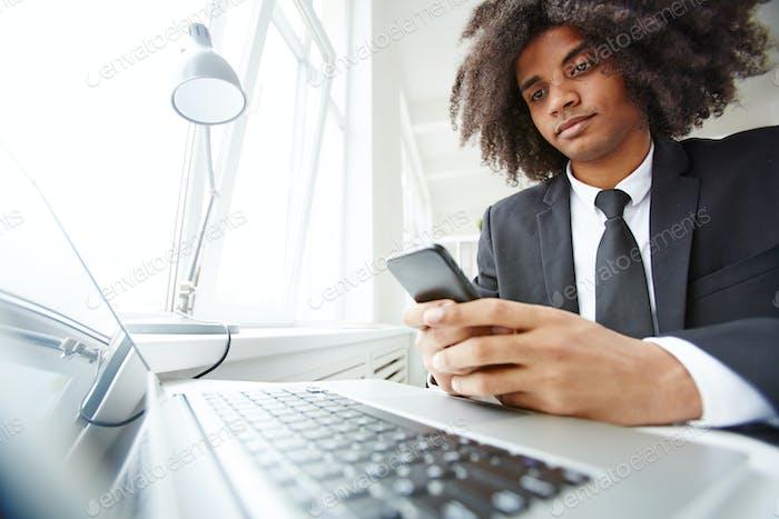 Comunicación por lugar de trabajo
