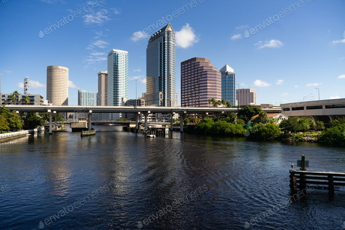 Inland Waterway Seddon Channel Boat traffic Tampa Bay Florida US