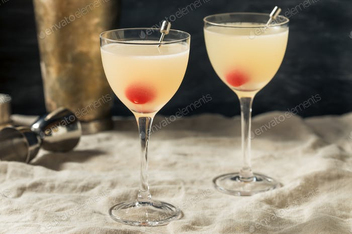 Refreshing Boozy Casino Cocktail