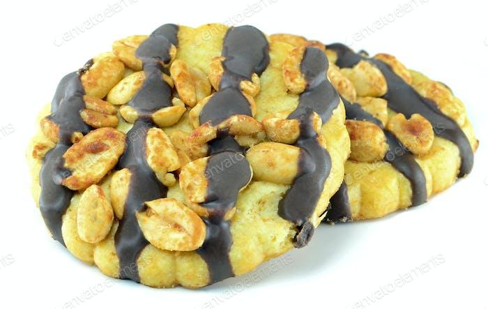 Peanut Chocolate Cookies