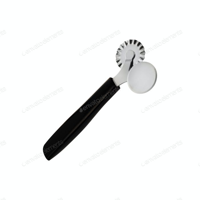 Pizza knife isolated on white background