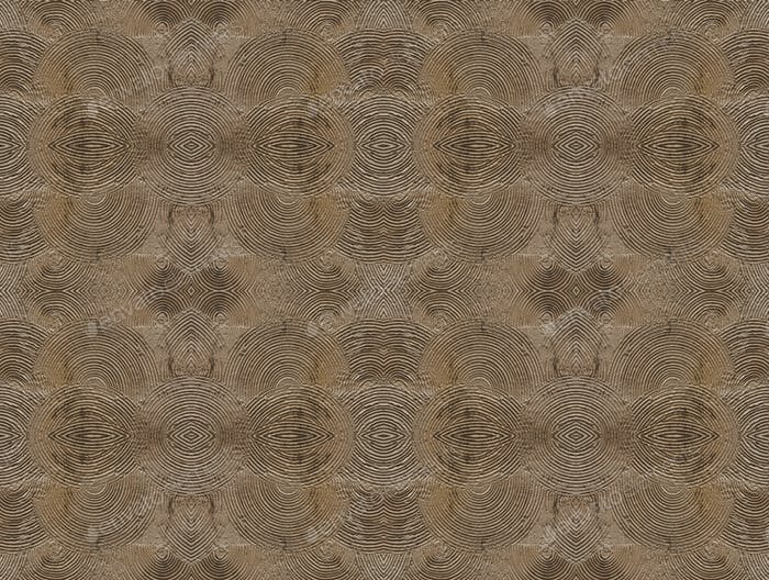 seamless overlapping concentric circle wall pattern background, old brick texture pattern