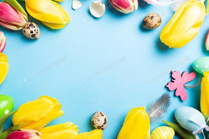 Frohe Osterkarte.