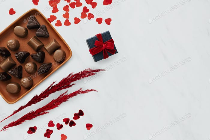 Valentines day chocolates