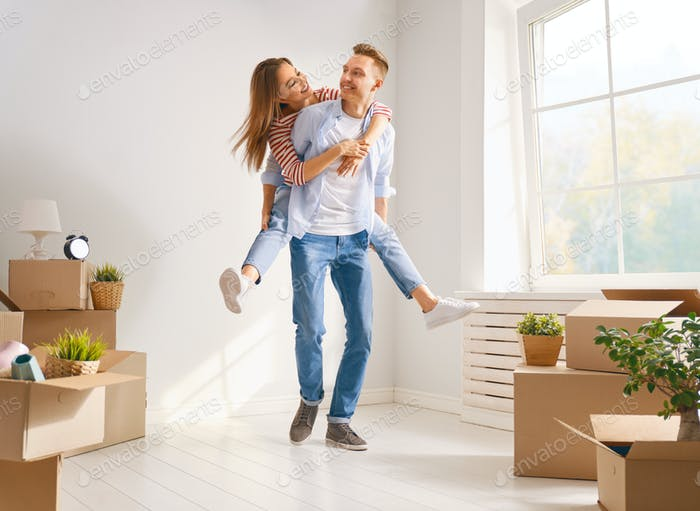 Thumbnail for couple moving to new apartment