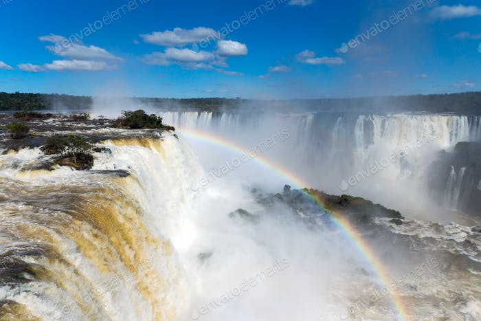 The wonderful Iguazu falls