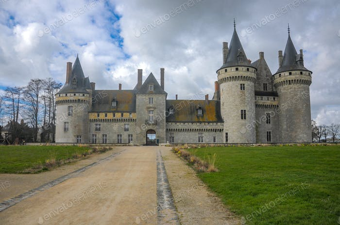 Beautiful castle of Normandy it's the Chateau of Sully Sur Loire