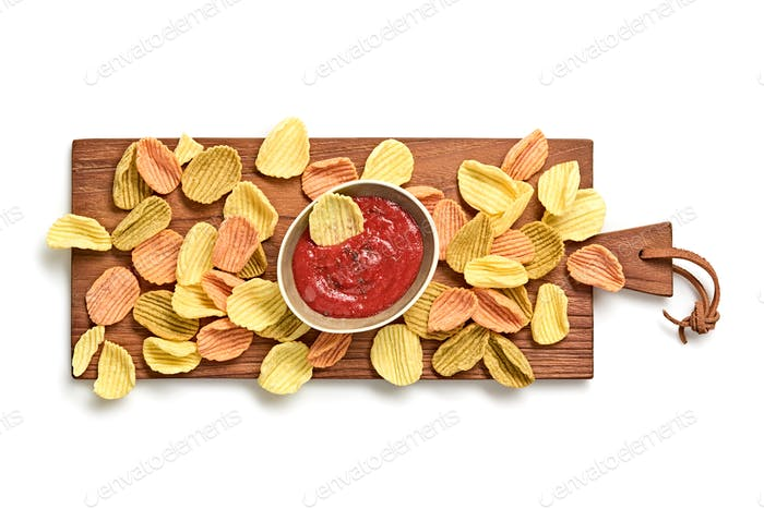 Chips sauce