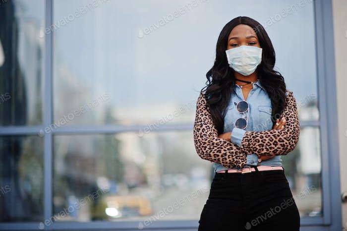 Coronavirus quarantine and global pandemic.