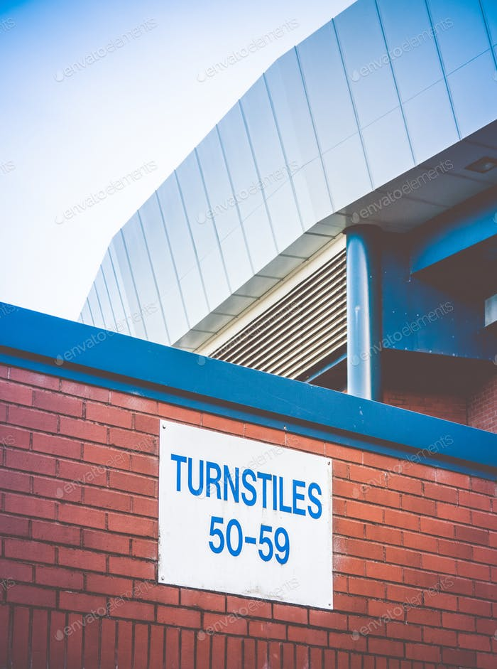 Football Stadium Turnstiles