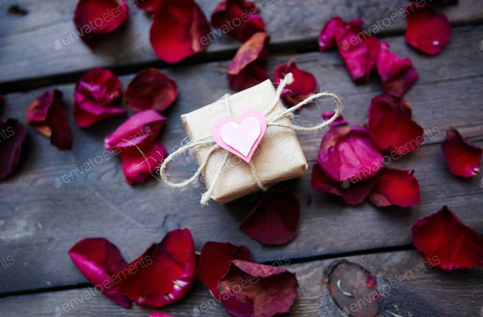 Geschenk aus Herz