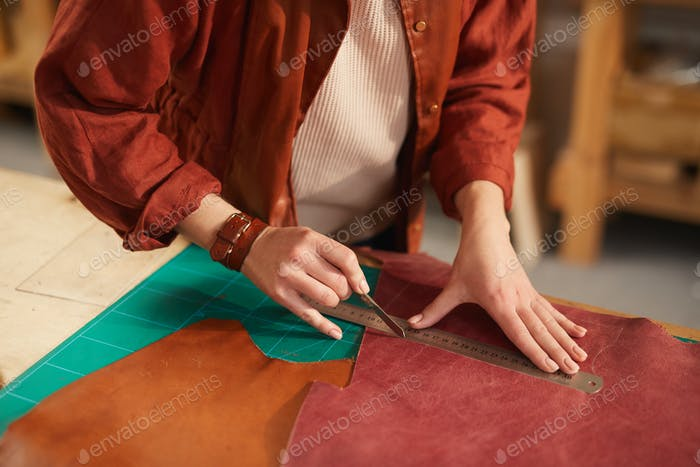 Artisan Cutting Leather Material