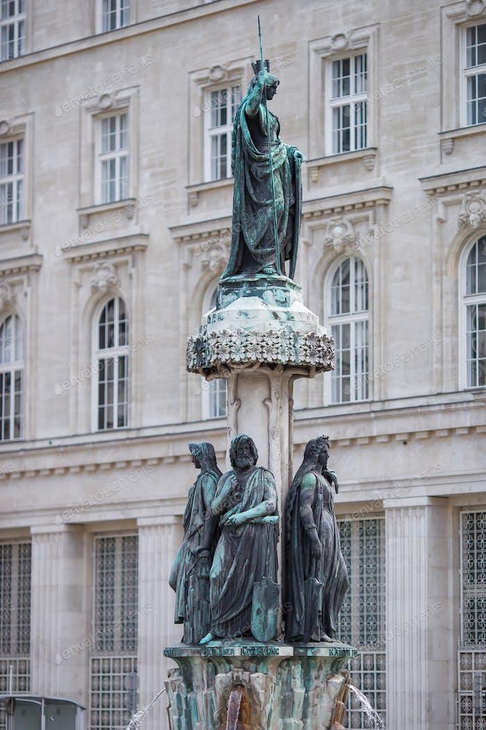 Austriabrunnen Brunnen in Wien, Österreich