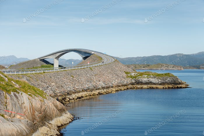 atlantic road bridge in Norway